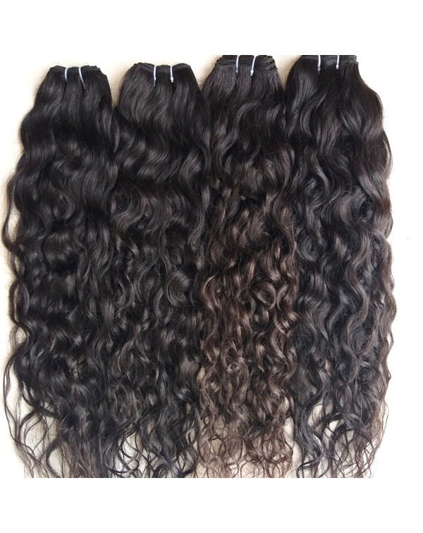Deep Wavy Human Hair Extensions