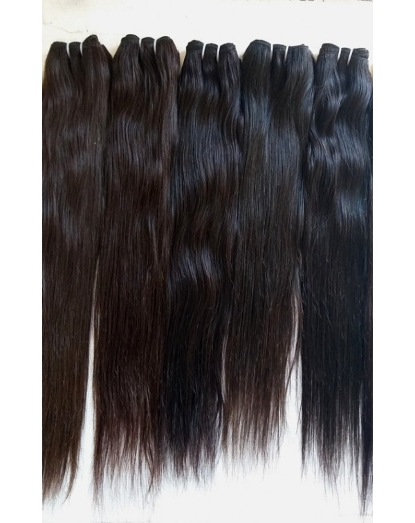 Raw Unprocessed Straight Hair Extensions