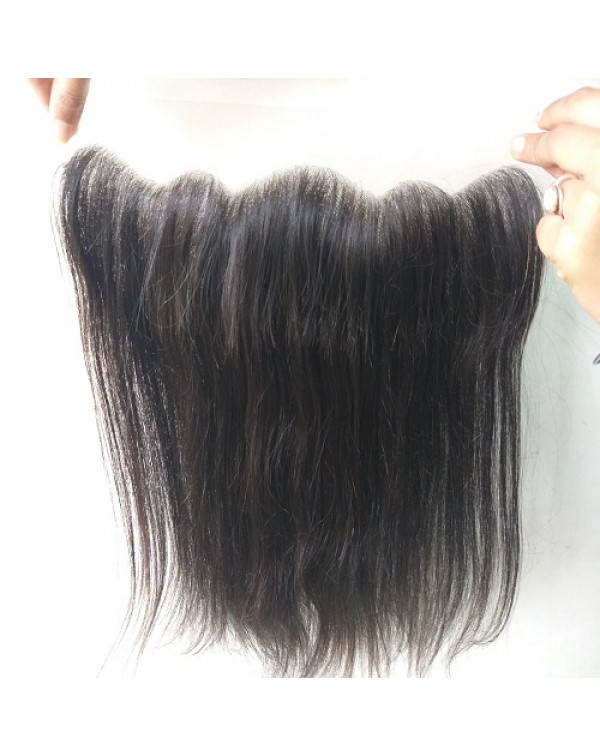 13*4 Raw Straight Hair Frontal