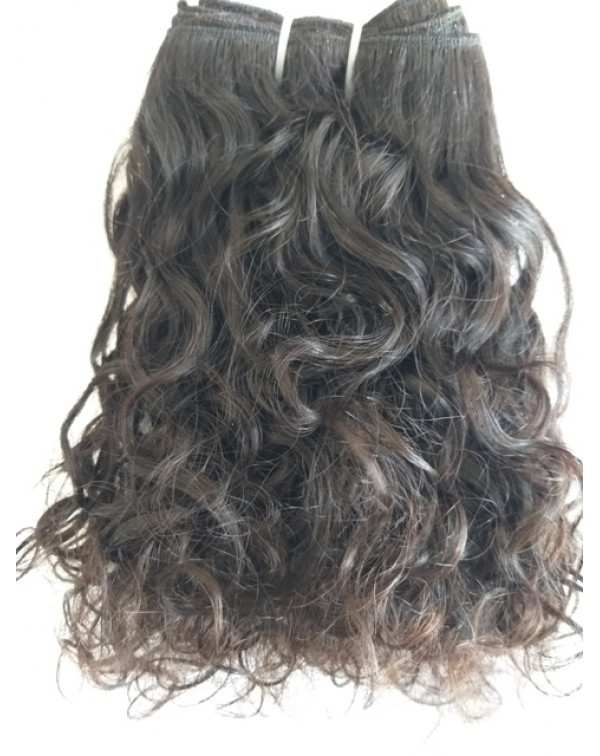Brazilian curly wavy hair