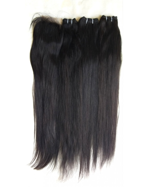Raw Straight Hair Extensions
