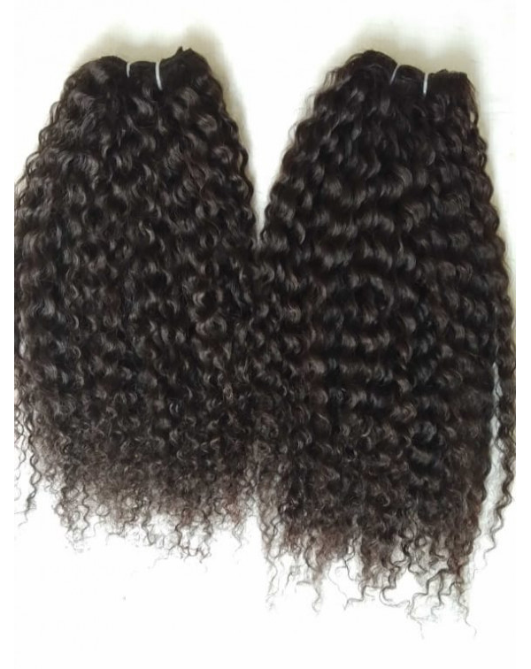 Steam Curly Human Hair Extensions