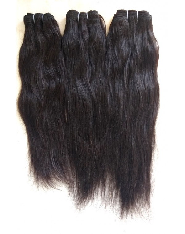 Unprocessed Straight Human Hair Extensions