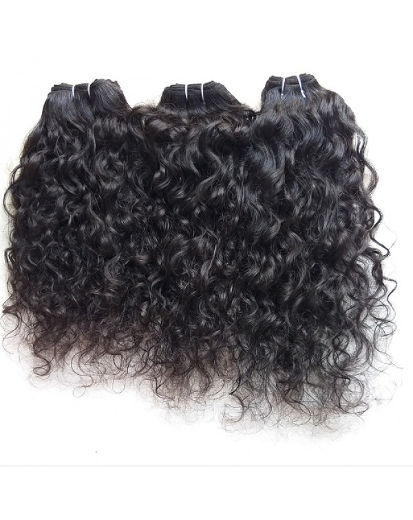 Unprocessed Curly Human Hair Extensions