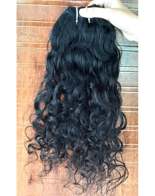 Raw Unprocessed Curly Hair Extensions