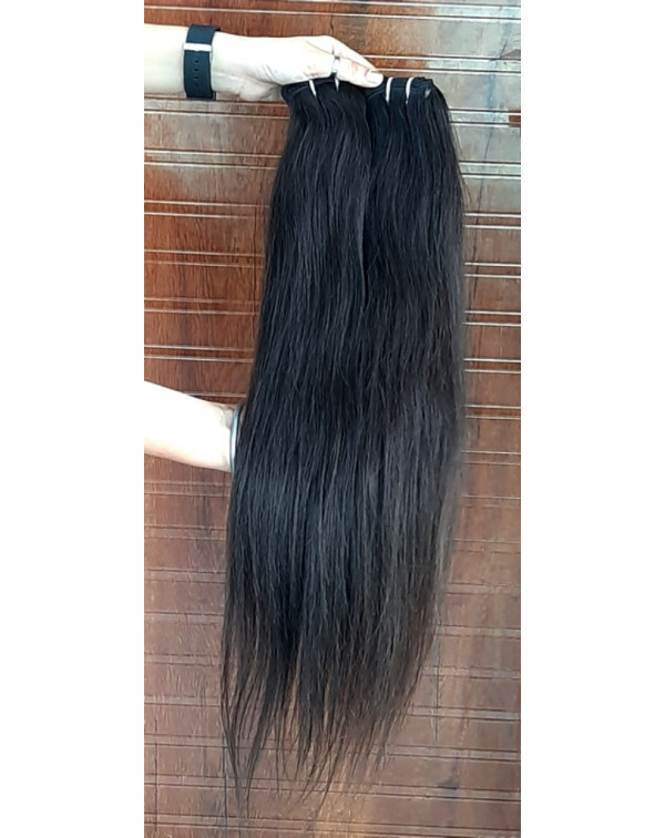 Raw Natural Straight Human Hair Extensions