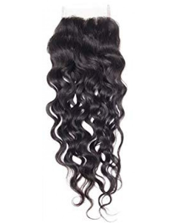Transparent Lace Wavy Closure