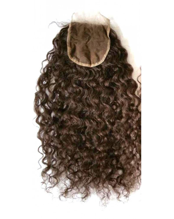 Natural Curly Lace Closure 4*4