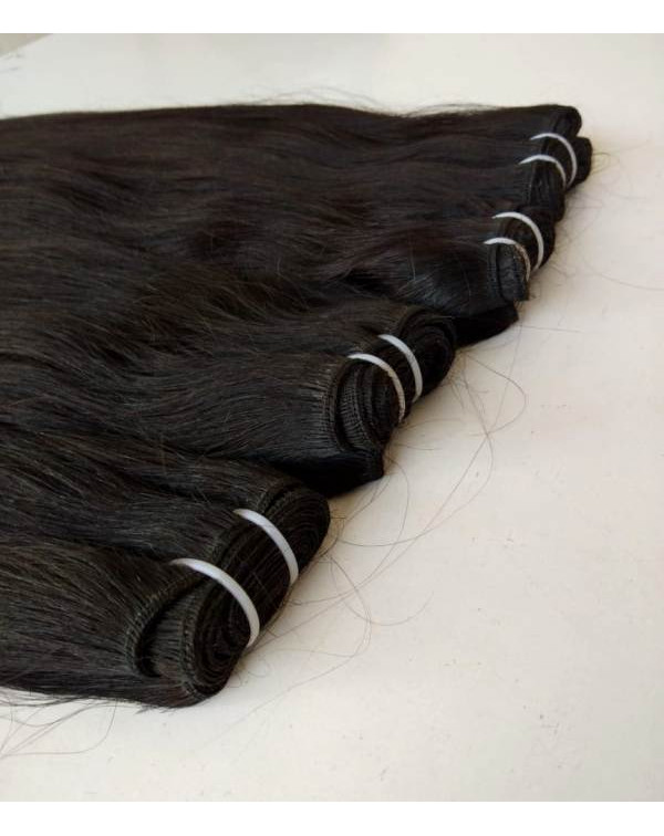 Raw Natural Straight Hair Extensions