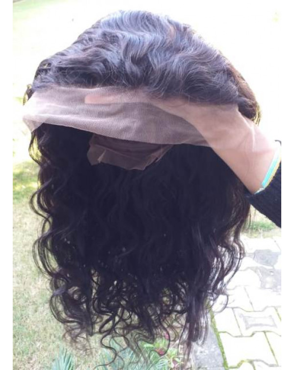 Full Lace Straight Swiss Transparent lac...