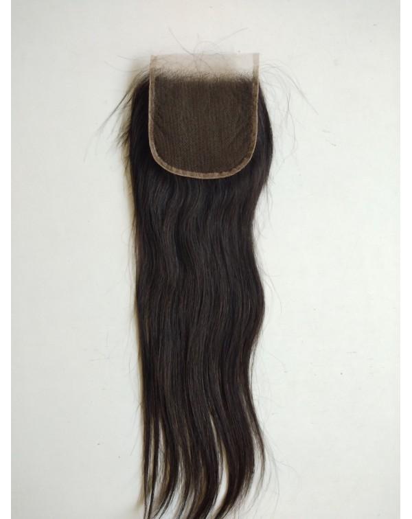 Virgin Straight Closure 4*4 Hair Extensions
