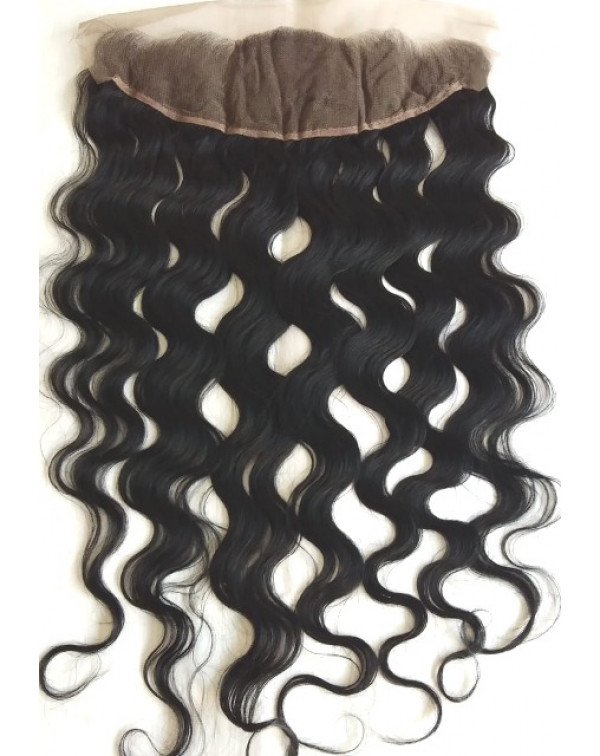 Brazilian Deep Wavy Hair Frontal