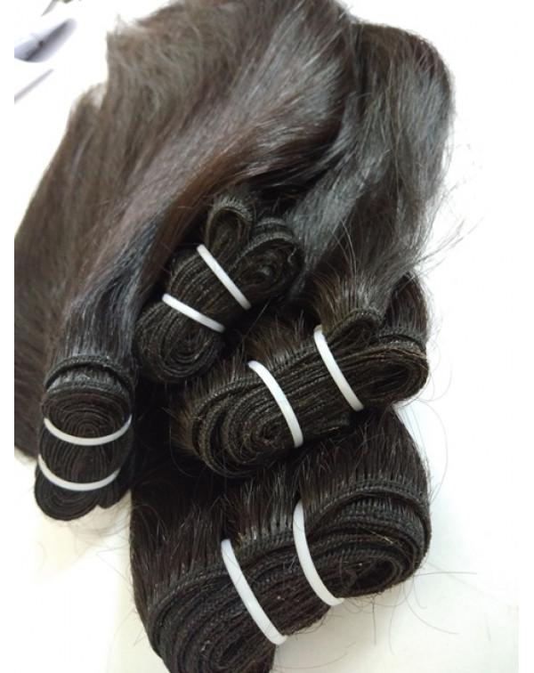 Natural Black Indian Straight Hair