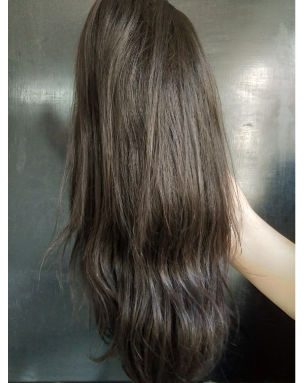 Natural Hair Straight Full Lace Wig