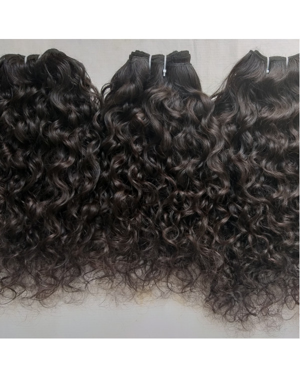 Raw Natural Curly Hair Extensions