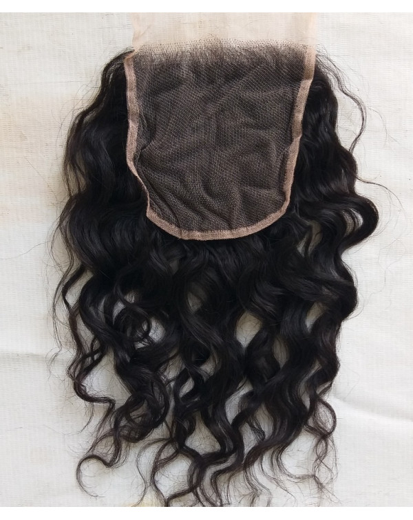 Raw Wavy Hair Closures