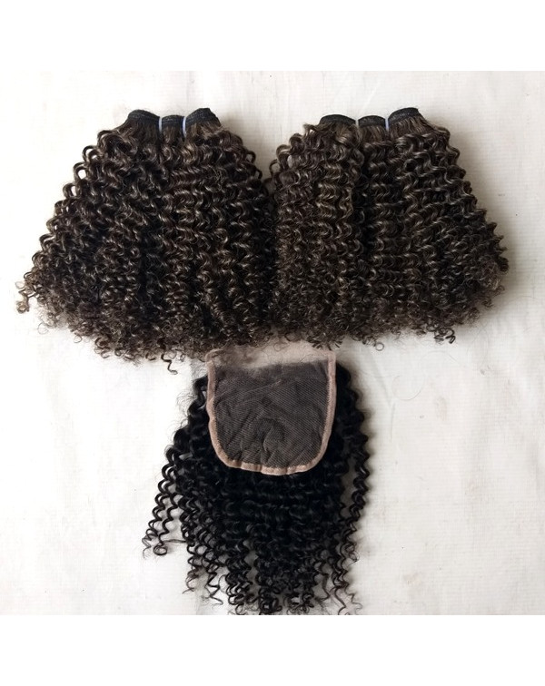 Raw Virgin Kinky Curly Hair Extensions