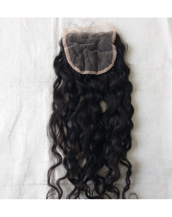 Unprocessed Curly Hair Closure