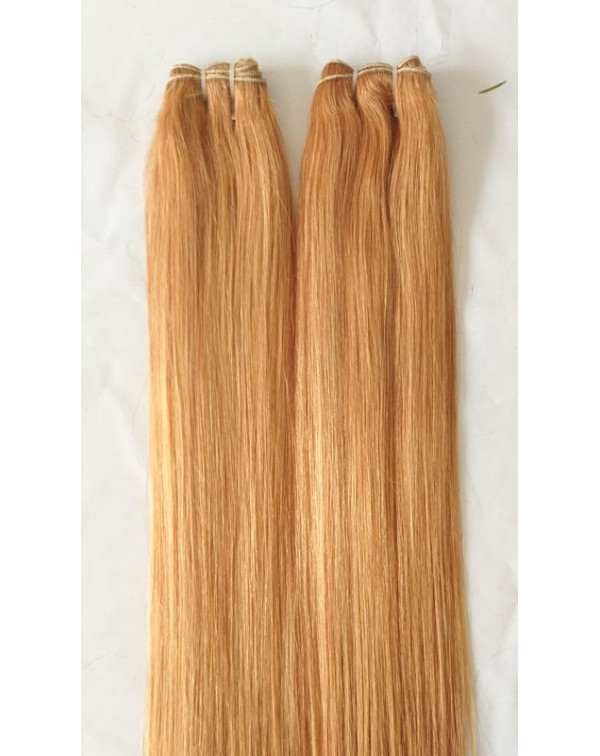 Blonde Natural Straight Hair Extensions