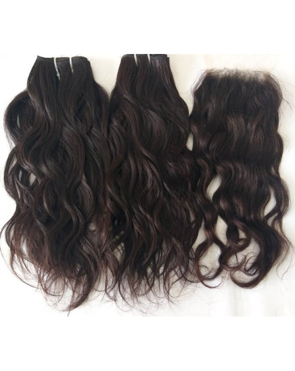 Natural Wavy Hair Extensions