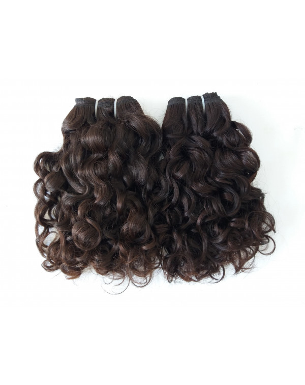 Peruvian Curly Human Hair Extensions