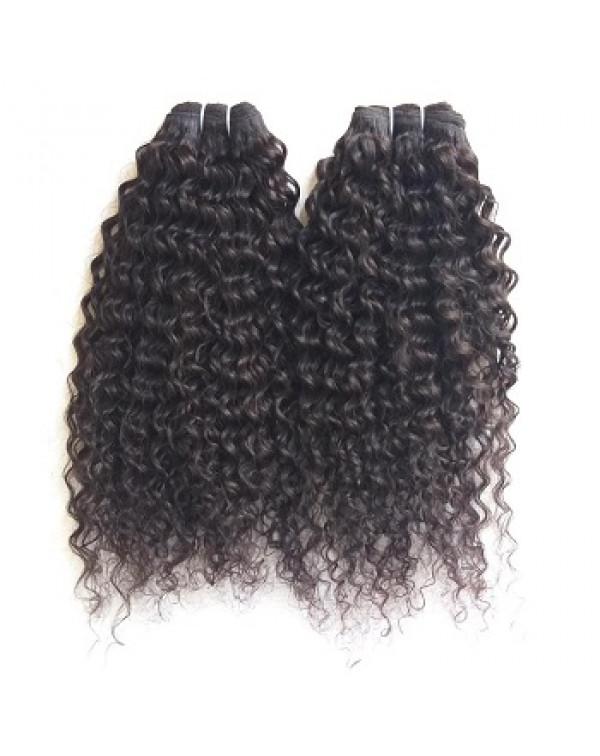 Brazilian Virgin Human Hair Natural Blac...