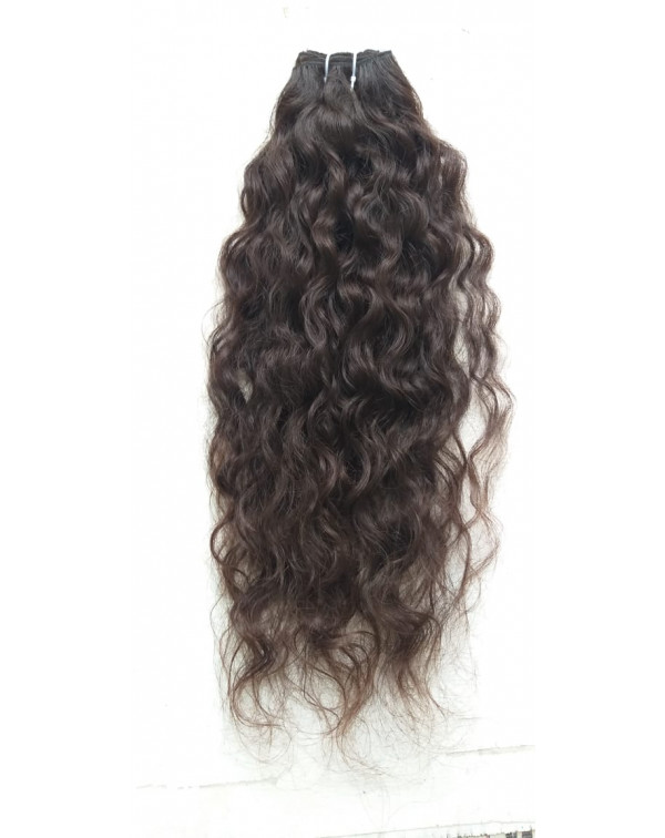 Raw Temple Curly Wavy Human Hair