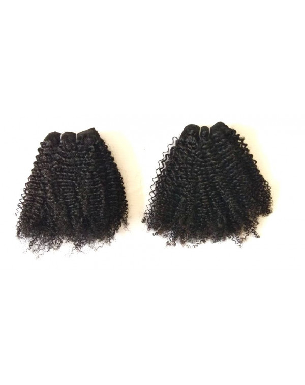 Natural Kinky Curly Human Hair Extension