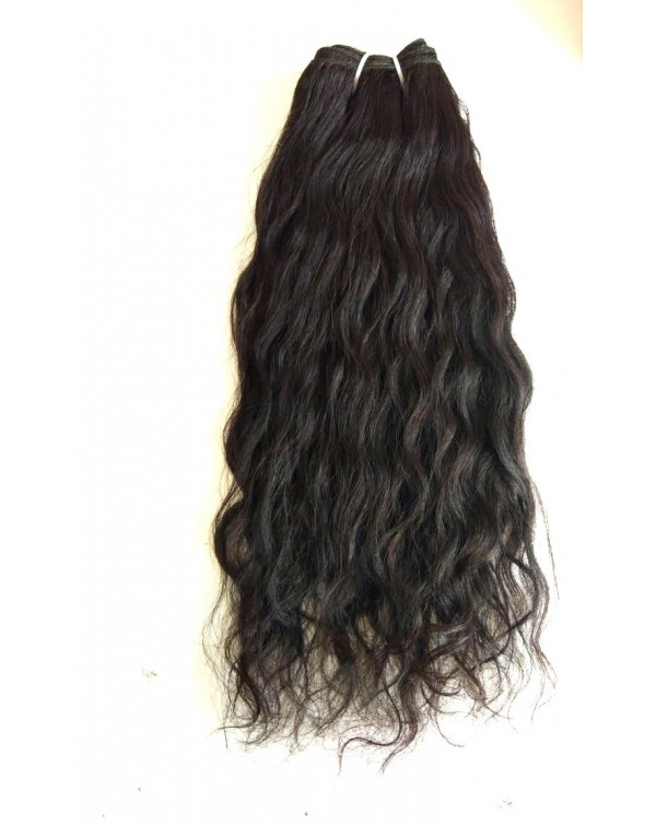 Steam Wavy Human hair